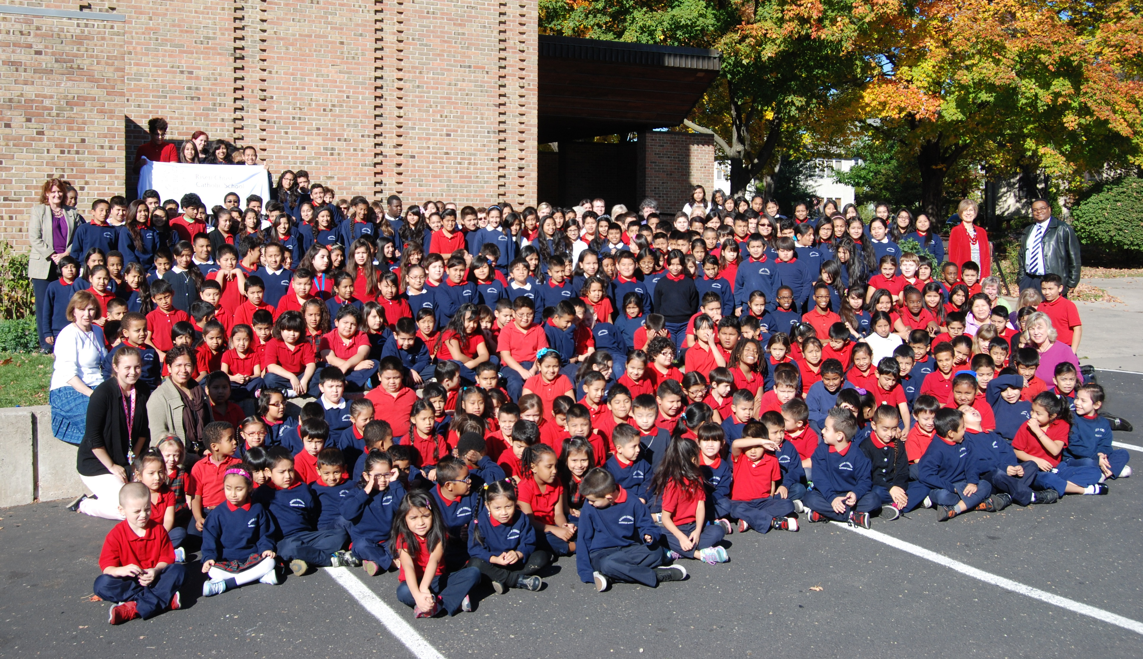 Bienvenidos a la Escuela Católica Risen Christ